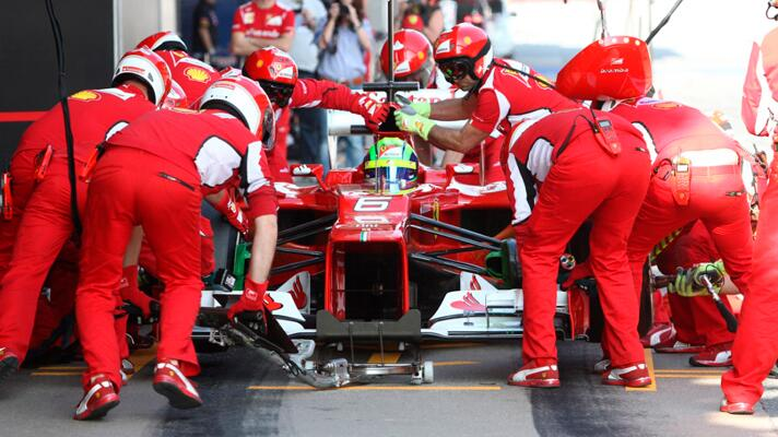 The 2012 Formula One season in numbers