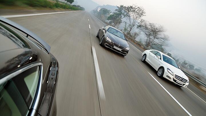 Audi A7 vs BMW 6 Gran Coupe vs Mercedes CLS