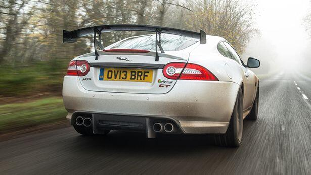 Images from our Jag XKR-S GT first drive