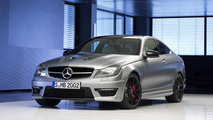 Pics of the Merc C63 Edition 507