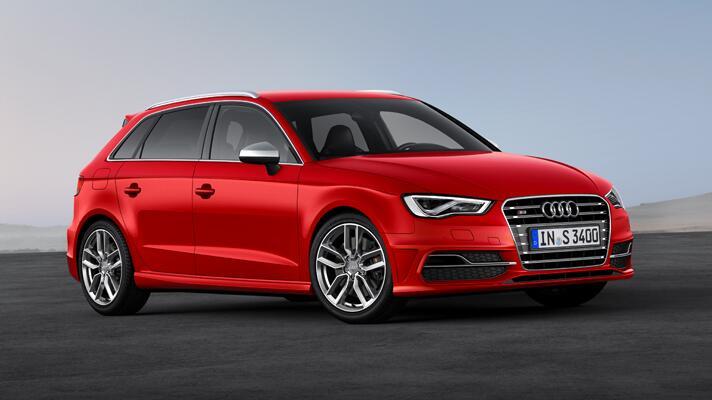 First pics: new Audi S3 Sportback