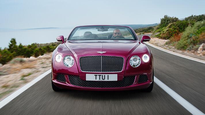 Bentley's new GT Speed Convertible