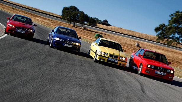 Pics: journey of the BMW M3 Coupe