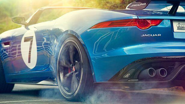 Gallery: the Jaguar 'Project 7'