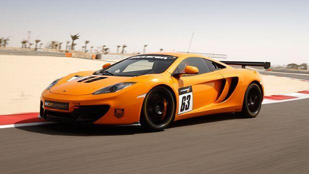 McLaren reveals 12C GT Sprint