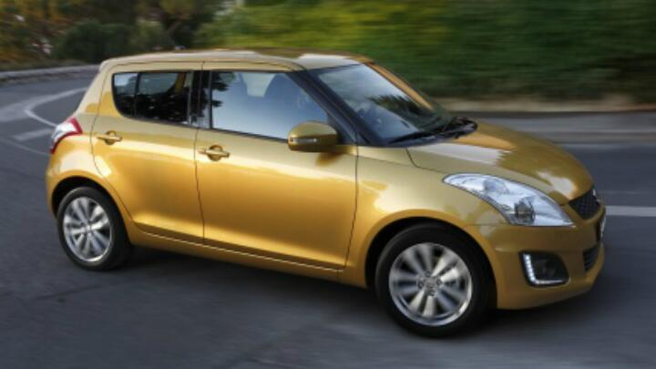 First pics of the refreshed Suzuki Swift leak out