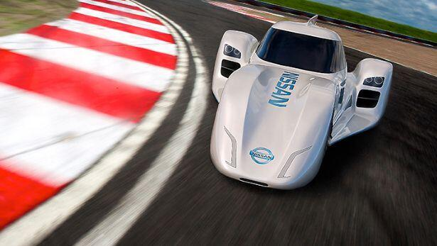 Welcome to Nissan's stunning ZEOD racer