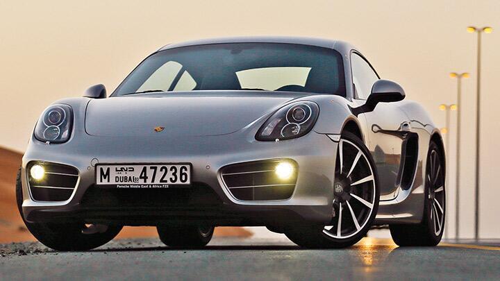 Porsche Cayman S: Balance of Power