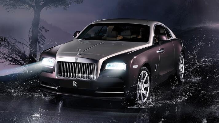 Pics: new Rolls-Royce Wraith