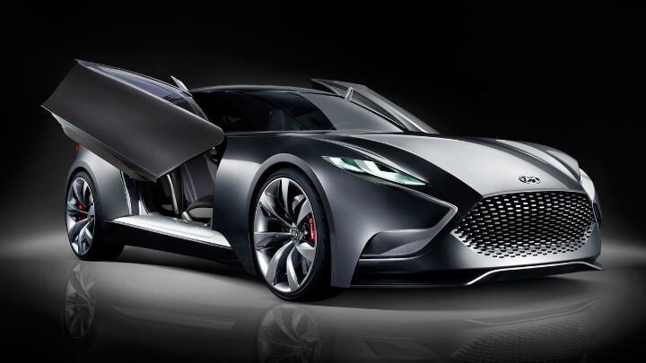 Hyundai's HND-9 Concept at Seoul