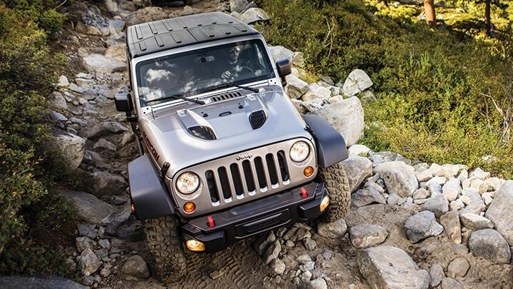 Jeep Wrangler: The Gray Wolf