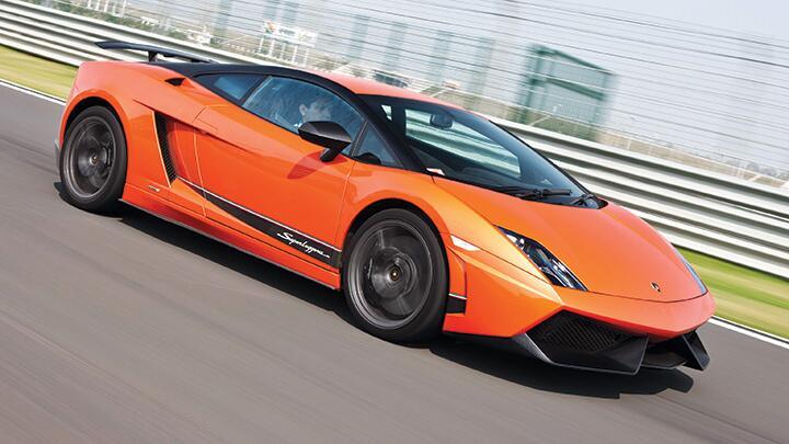Lambo 570-4 Superleggera: Orange Arrow