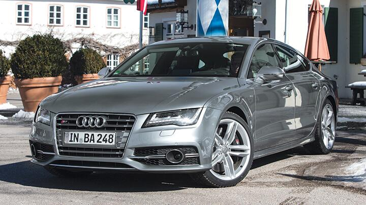 Audi S7: Worth the V8