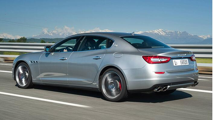 Gallery: the Maserati Quattroporte V6