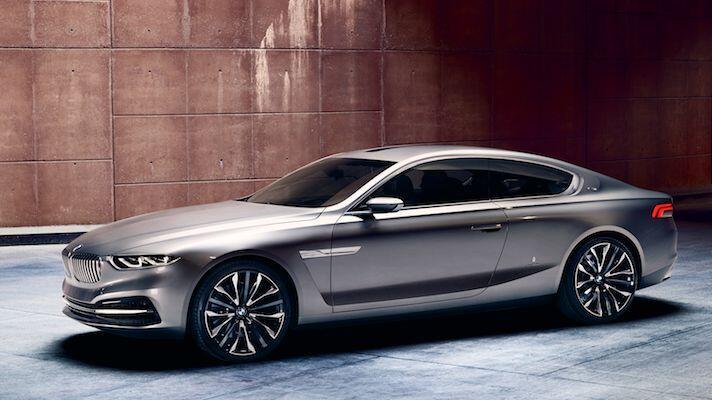 The BMW Pininfarina Gran Lusso Coupe