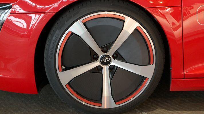 Pics: Audi R8 e-tron first drive