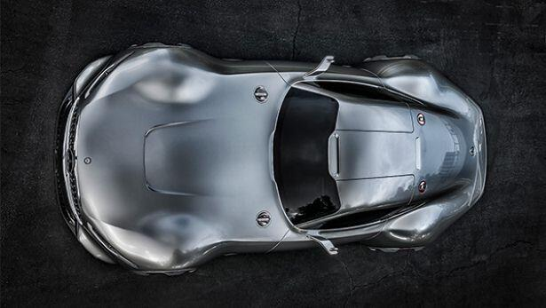 Pictures of the Merc AMG Vision Gran Turismo
