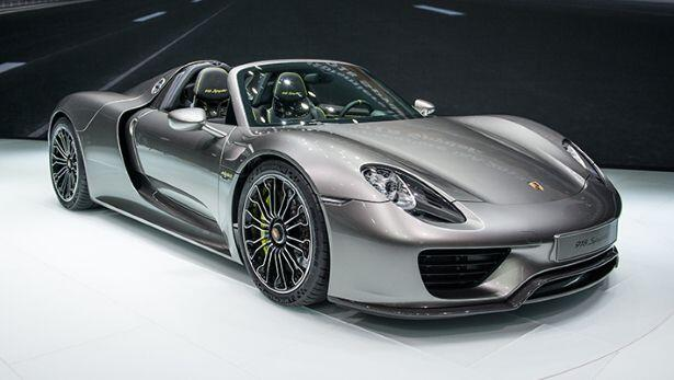 Gallery: Porsche 918 Spyder at Frankfurt