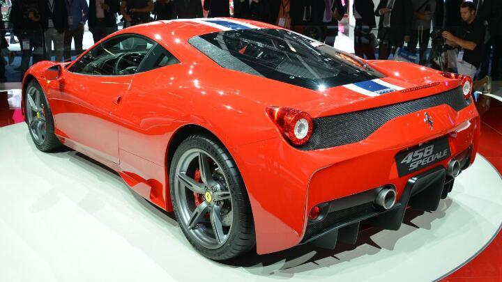 Images of the Ferrari 458 Speciale