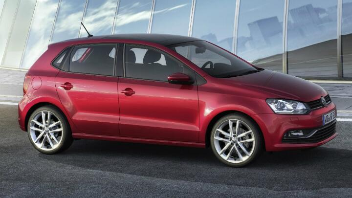 Pictures of the facelifted Polo