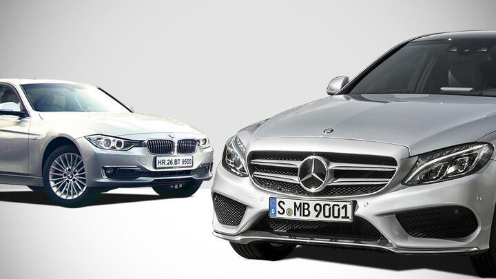 Mercedes C-Class vs BMW 3 series