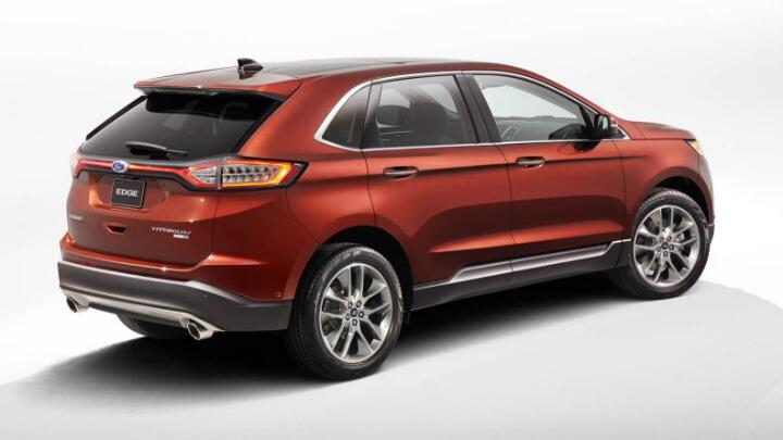 Ford Reveals All New Edge