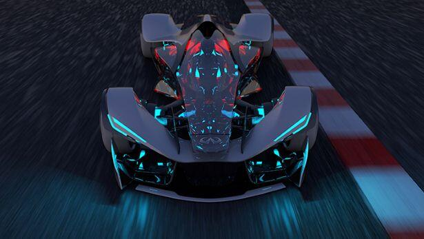 This is Infiniti's racecar of the future