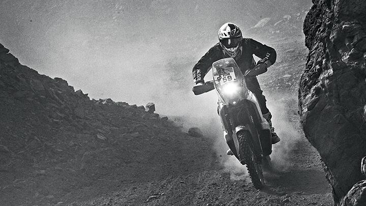 CS Santosh: Dakar and beyond