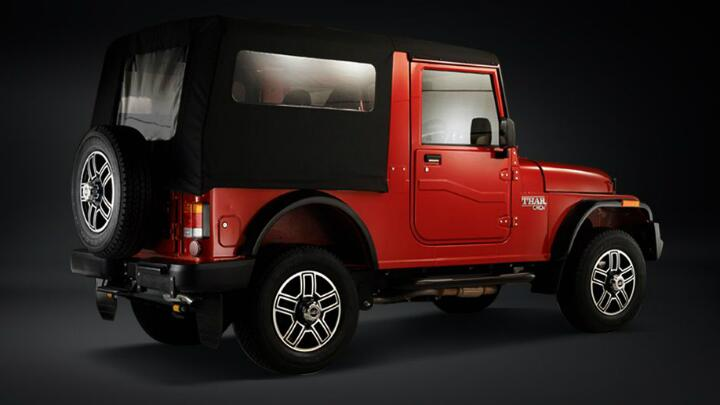 Gallery: refreshed Mahindra Thar launched