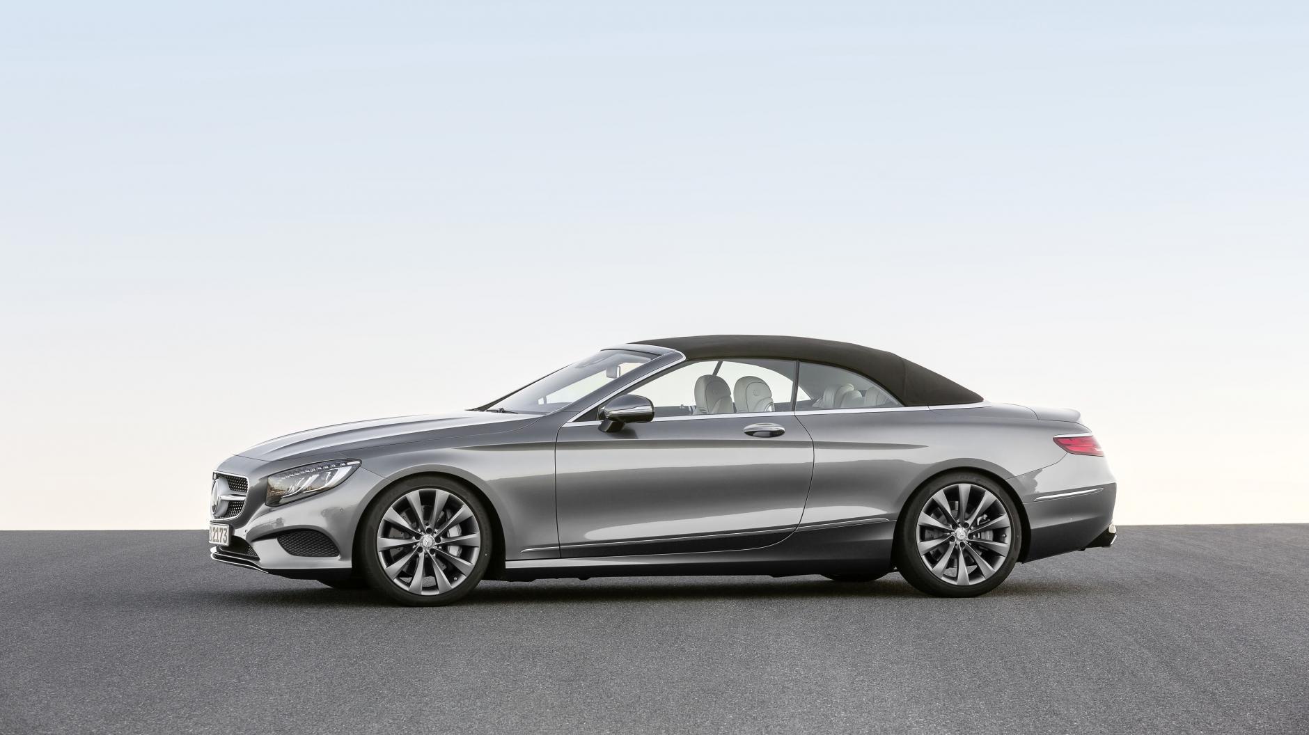 Pics: new Merc S-Class Convertible revealed