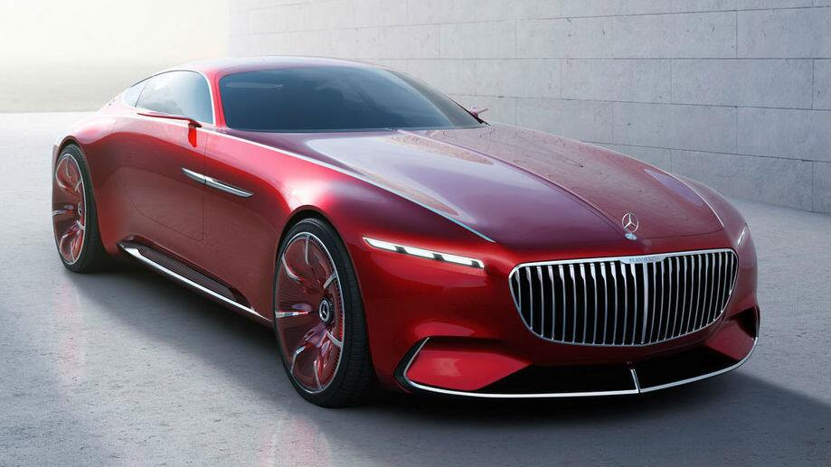 Image Gallery: Vision Mercedes-Maybach 6