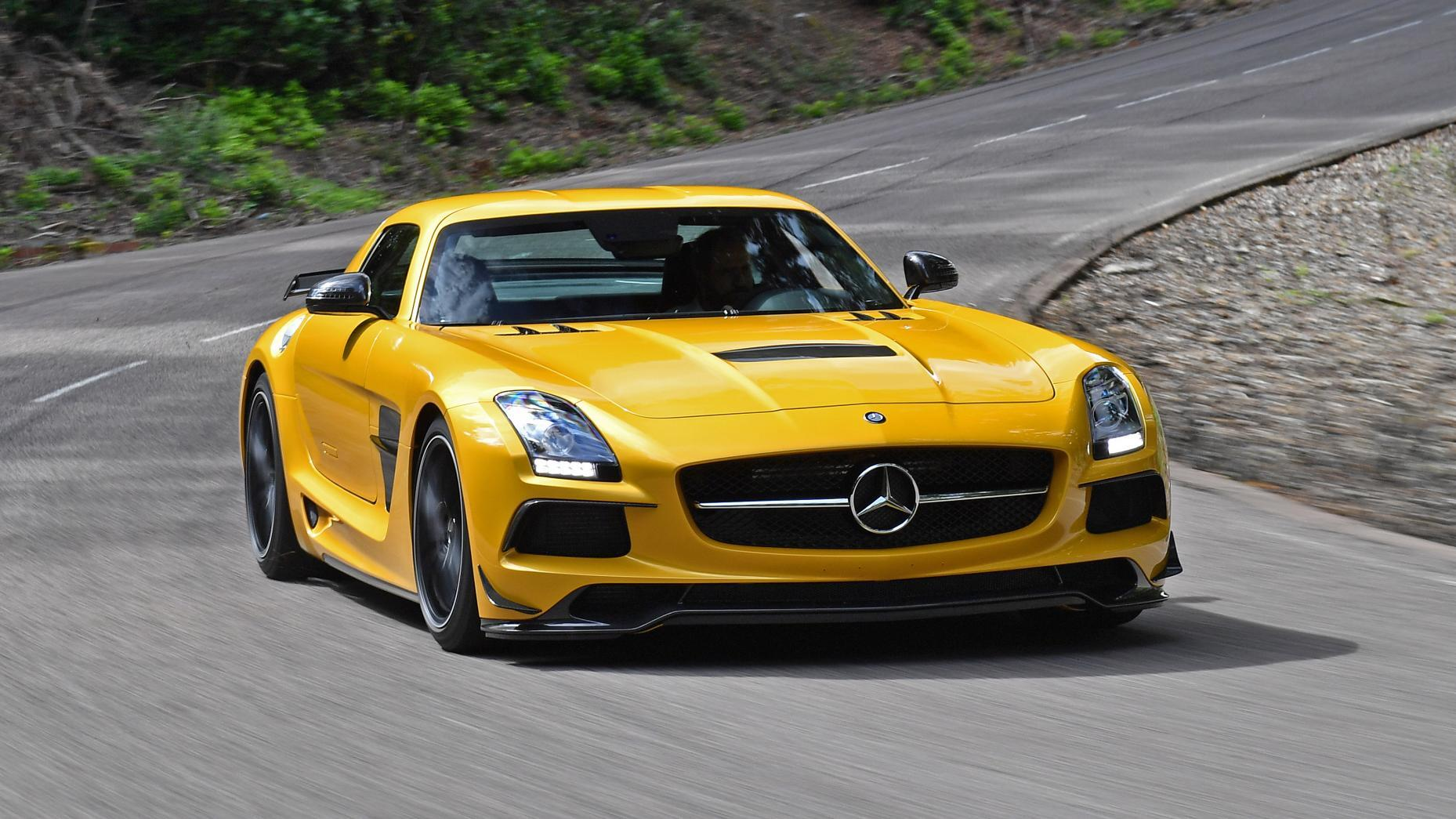 Driving Mercedes-AMG's wildest supercars