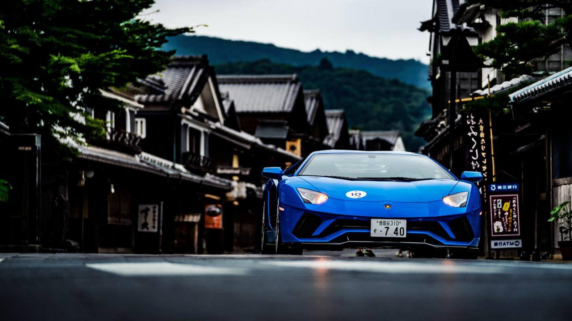 Gallery: many lovely Lamborghinis go on tour