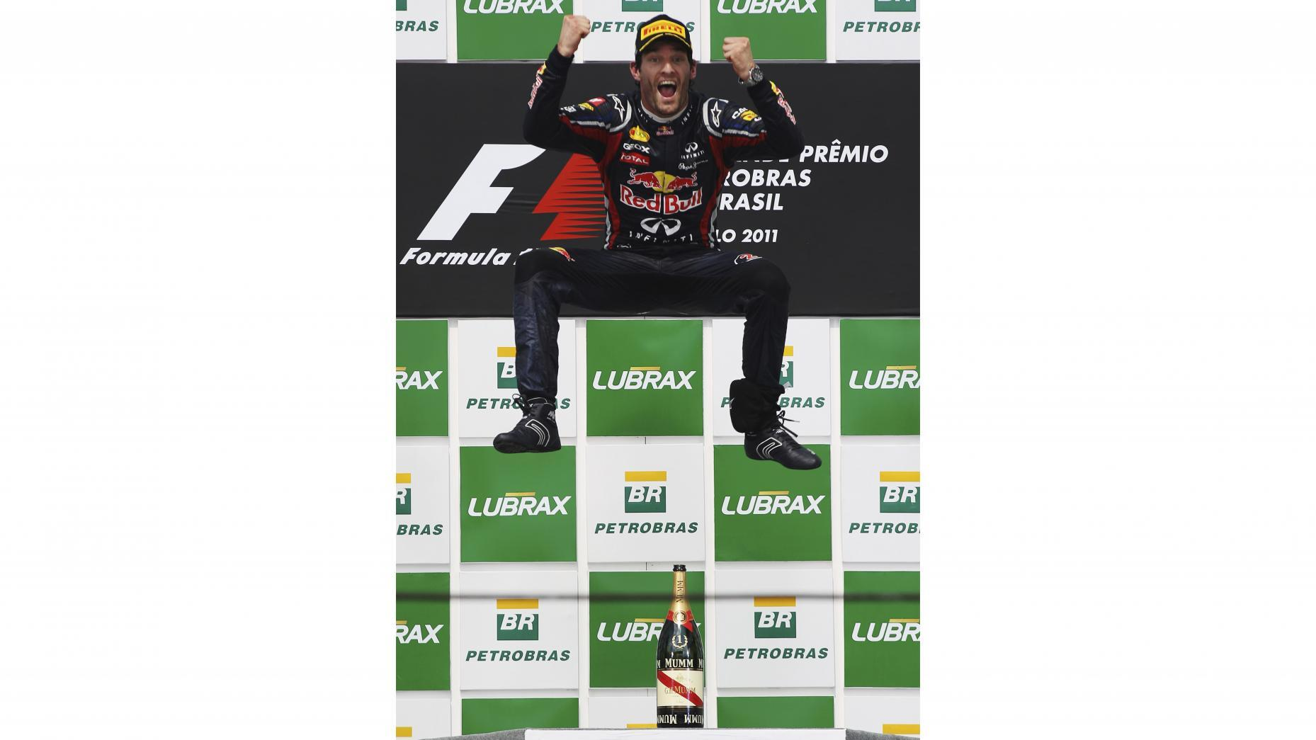 TG's five favourite F1 podium celebrations