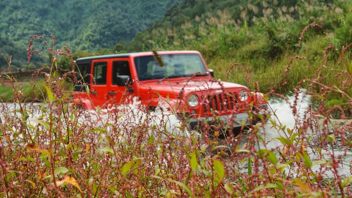 The real Jeep: Jeep Wrangler