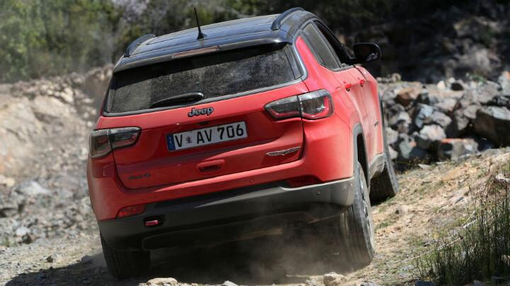 Feature: Jeep Compass Trailhawk