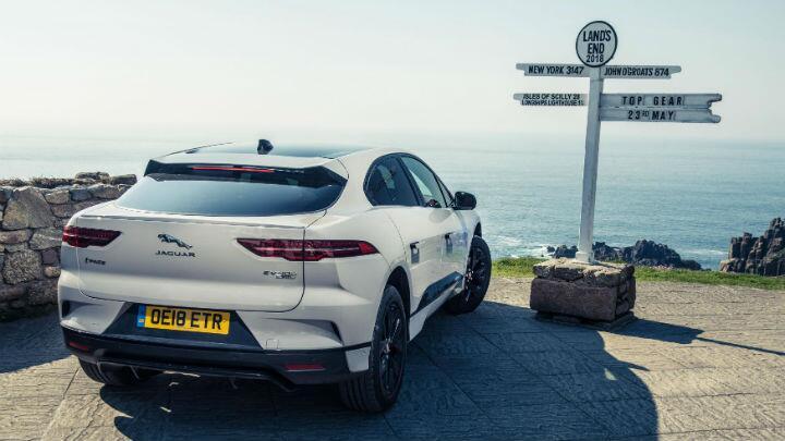 TG's big Jaguar I-Pace test part 5: how far can it actually go?