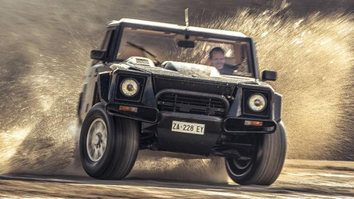 Driving the original Rambo Lambo: the LM002