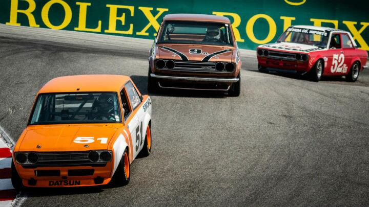Take a step back in time with these amazing racecars