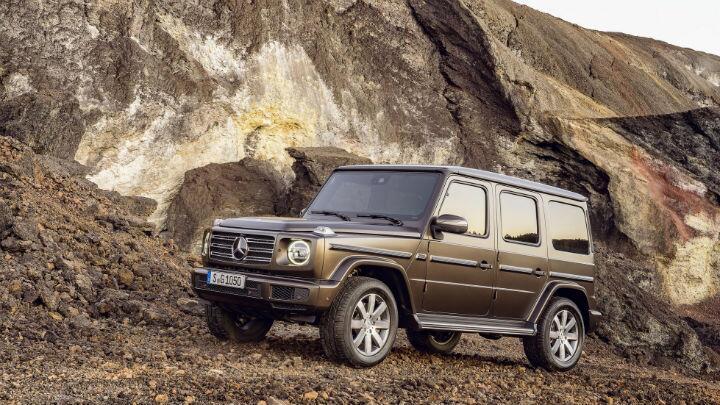 New Mercedes G-Class