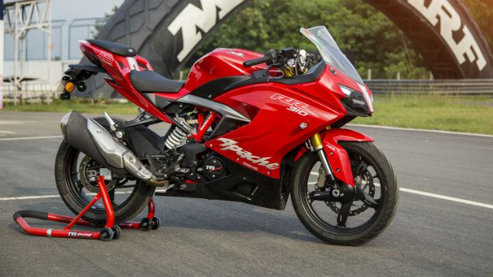 Feature: TVS Apache RR 310