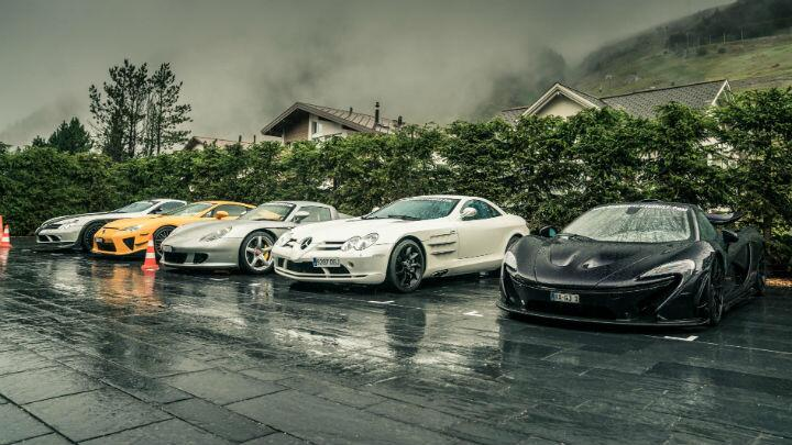 Inside the world's most exclusive car club