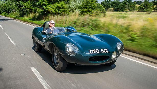 TopGear drives the Jaguar D-Type