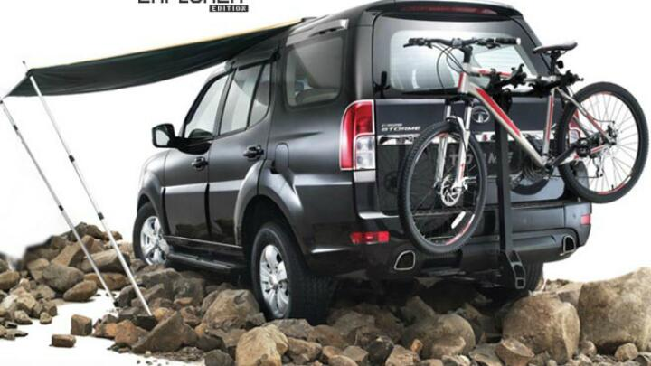 Pics: Tata Safari Storme 'Explorer Edition'