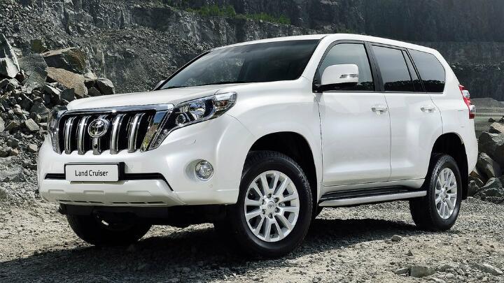 Gallery: refreshed Toyota LC Prado
