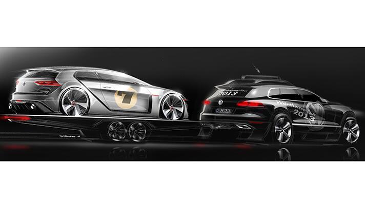 Gallery: 500bhp Golf GTI Concept