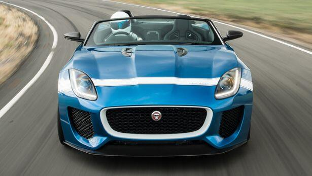 Stig drives the Jaguar Project 7