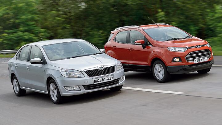 Ford EcoSport vs Skoda Rapid
