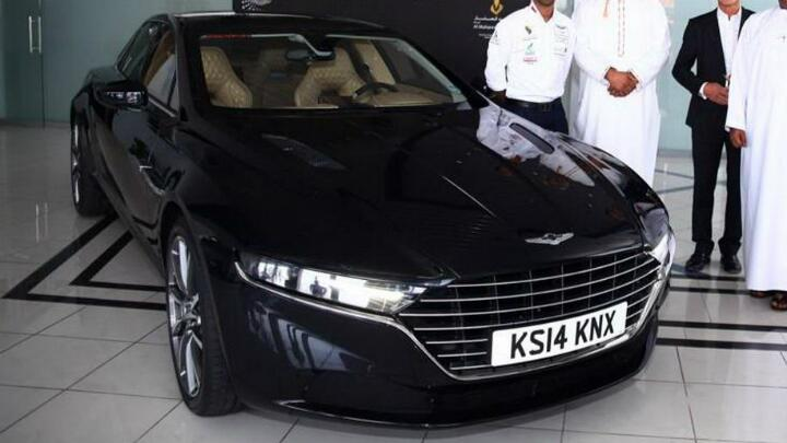 This is what the new Aston Lagonda looks like