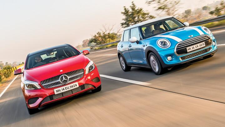 Mercedes A 200 Cdi Vs Mini Cooper D